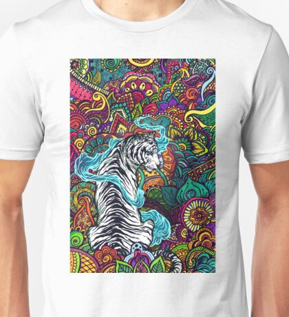 The White Tiger Unisex T-Shirt