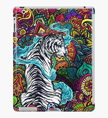 The White Tiger iPad Case/Skin