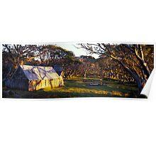 Wallace Hut - Falls Creek - Victoria Poster