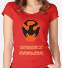 Kyuranger - Sasori Orange Women's Fitted Scoop T-Shirt