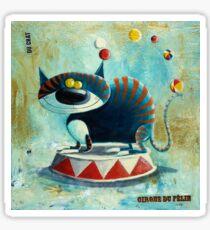 Cirque de felin Sticker