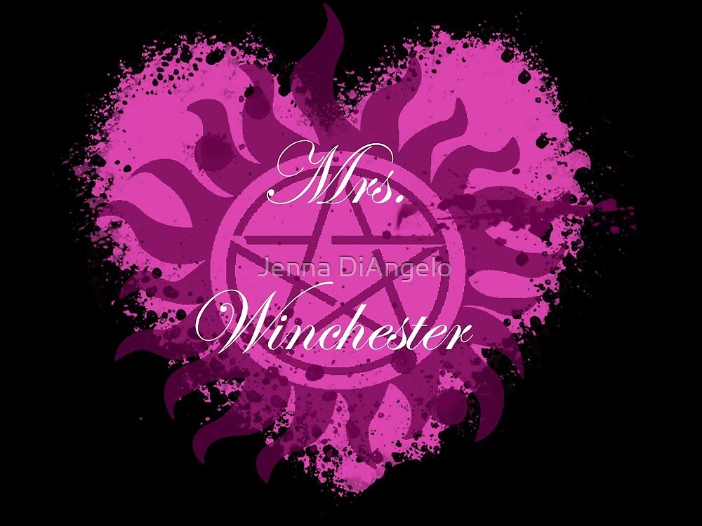 Mrs. Winchester by Jenna DiAngelo