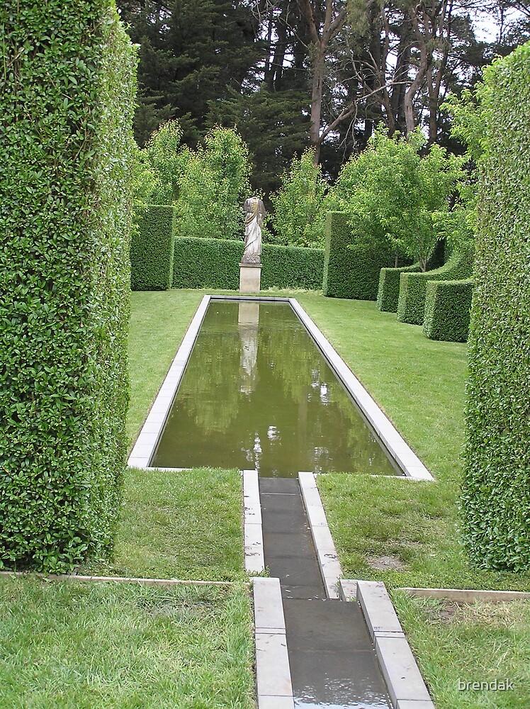 Pool in Bangay's Garden by brendak