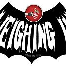 Weighing In Bat Logo by Brett Gilbert