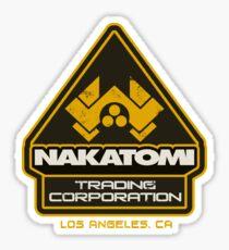 Nakatomi Trading Corporation.  Sticker