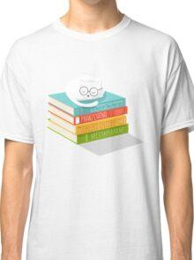 The Cat Loves Books Classic T-Shirt
