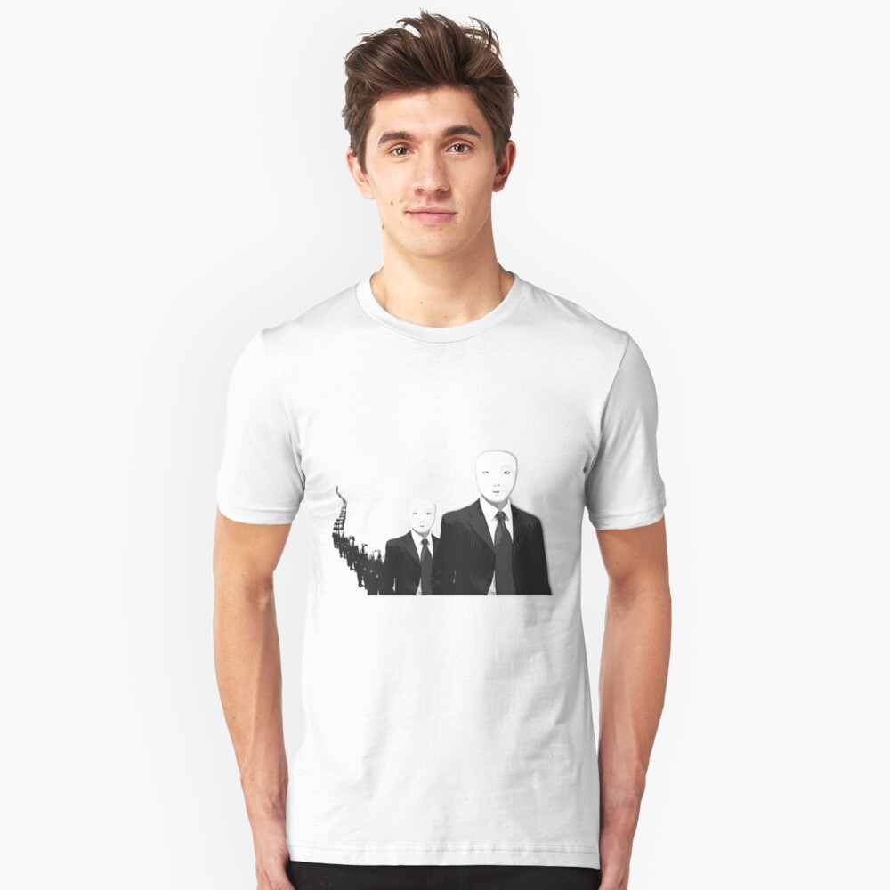 Living in each others shadows Unisex T-Shirt Front