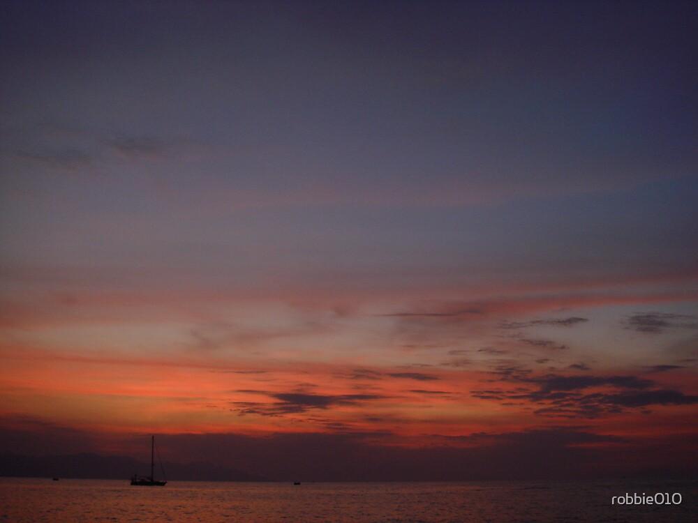 Bali Sunset III by robbie010