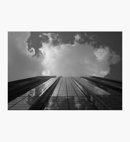 Looking Up v8 - AIG building, Hong Kong Photographic Print