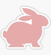Full House Pink Bunny Sticker