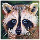 Rocky Raccoon Eyes So Sweet by Angela Treat Lyon
