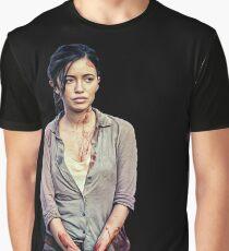 Rosita - The Walking Dead Graphic T-Shirt