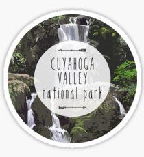Cuyahoga Valley National Park Sticker