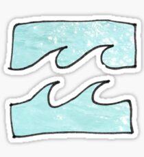 Wave after wave Sticker