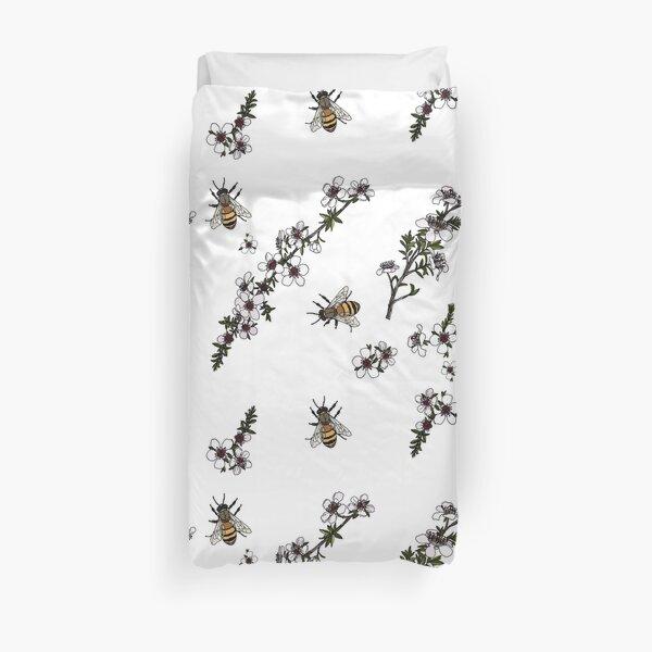 Manuka and Bees Duvet Cover