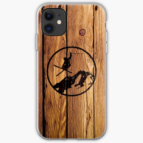 skiing 1 iPhone Soft Case