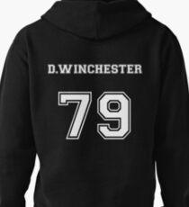 Dean Winchester Varsity Hoodie Supernatural Pullover Hoodie
