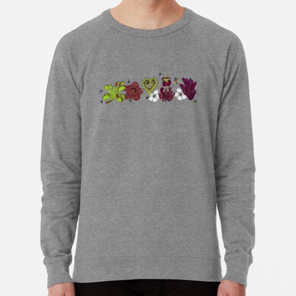 Insectivorous plants - array Lightweight Sweatshirt