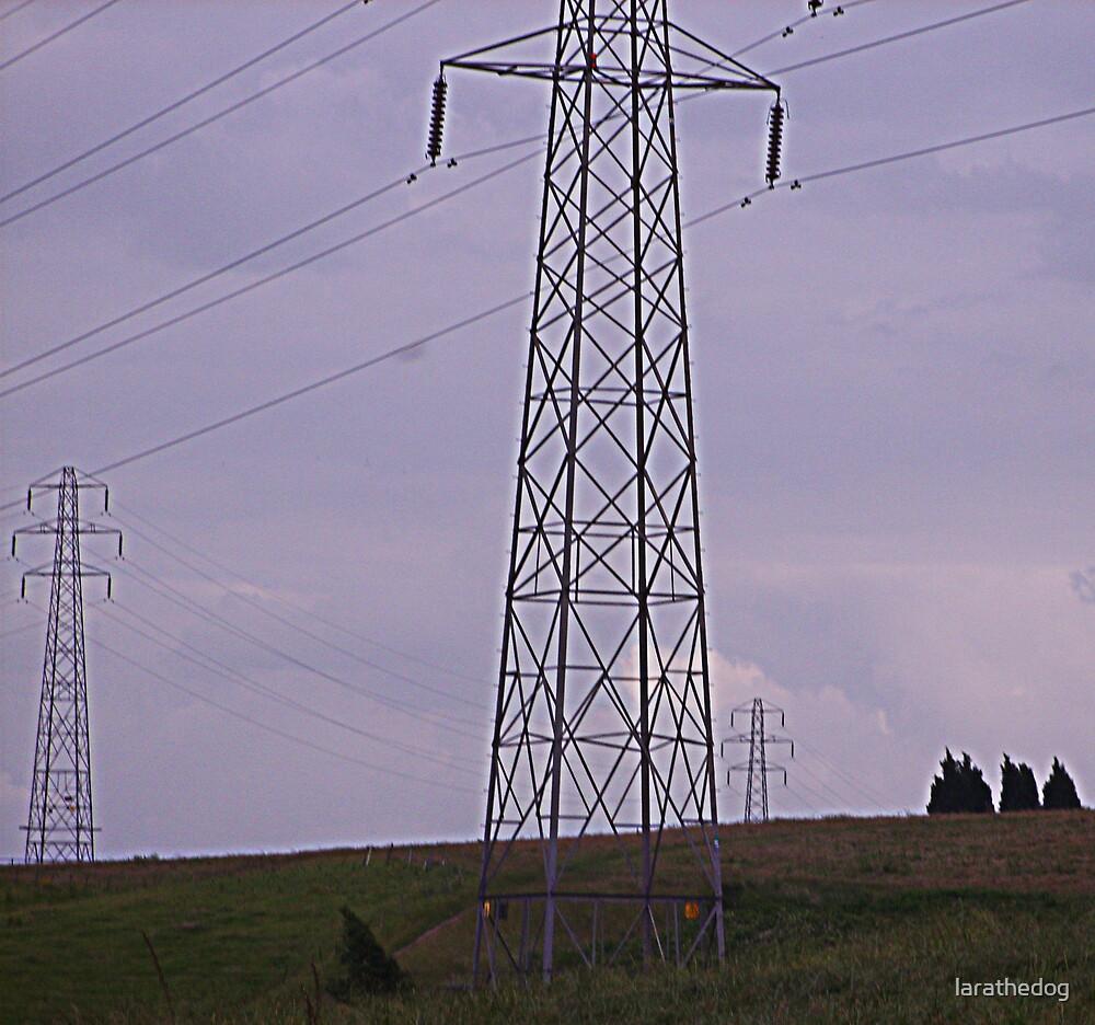 pylons by larathedog