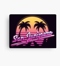 San Junipero Canvas Print