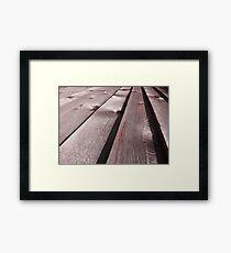 Timber!! Framed Print