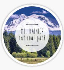 Mt Rainier National Park Sticker