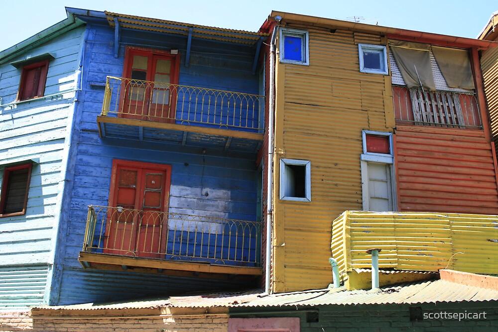Colourful La Boca  by scottsepicart