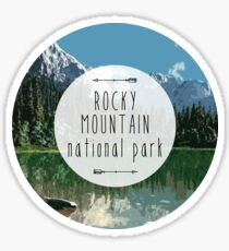 Rocky Mountain National Park Sticker
