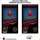 NES Custom Cart Label - Pixel [Get the MEDIUM size] by ChoccyHobNob