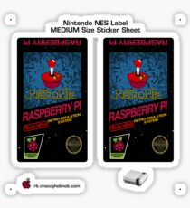 NES Custom Cart Label - Pixel [Get the MEDIUM size] Sticker