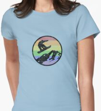 Snowboarding 1 distressed T-Shirt