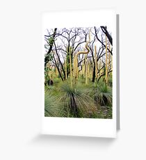 Life after Fire Greeting Card