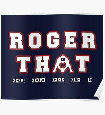 Roger That Poster