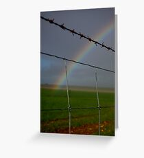 The Grass is Greener ... Greeting Card