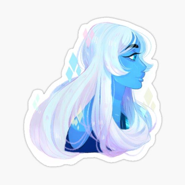 Blue Diamond Sticker