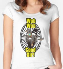 Wub, Wub, Good Sir! Women's Fitted Scoop T-Shirt