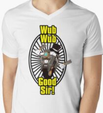 Wub, Wub, Good Sir! Men's V-Neck T-Shirt