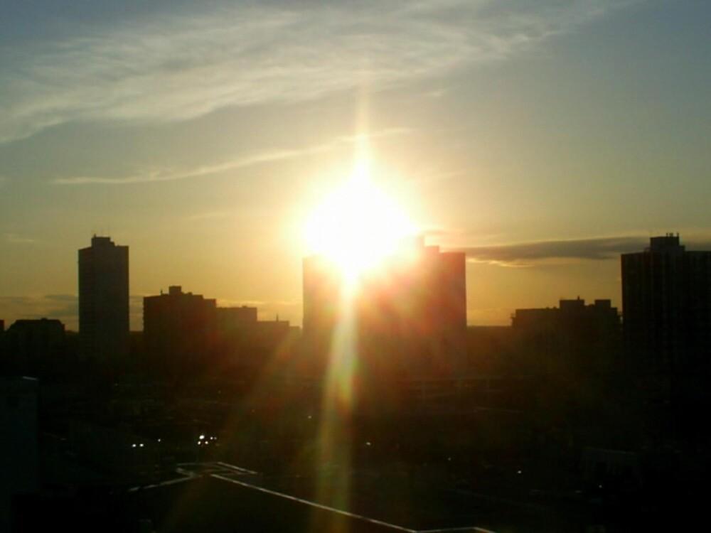 sunset by oilersfan11