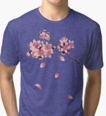 Cherry Blossom Branch Tri-blend T-Shirt