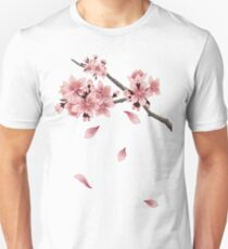 Cherry Blossom Branch Unisex T-Shirt