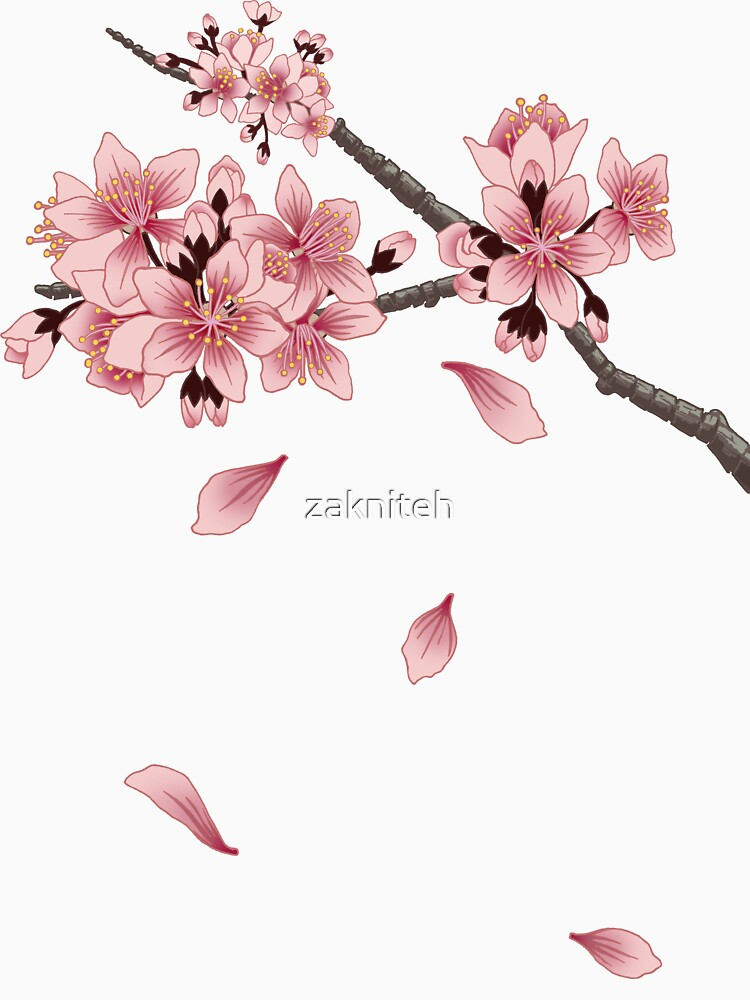 Cherry Blossom Branch by zakniteh