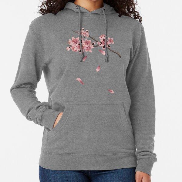 Cherry Blossom Branch Lightweight Hoodie