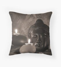 Still life with Budda Throw Pillow