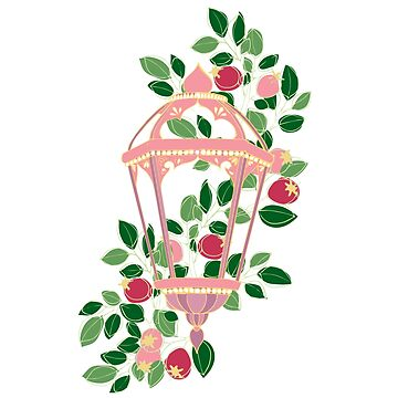 Pink lantern by HollyAstral