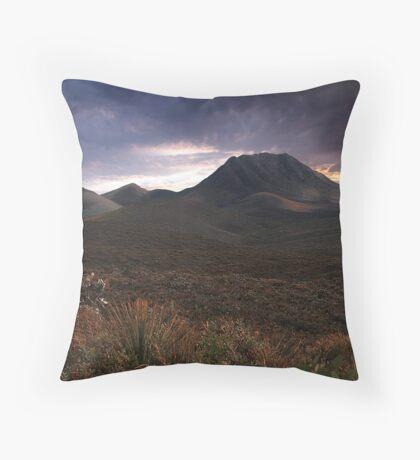 Moody Morning  Throw Pillow