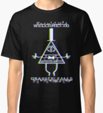 Bill Cipher - Welcome to Gravity Falls - Anaglyph Classic T-Shirt
