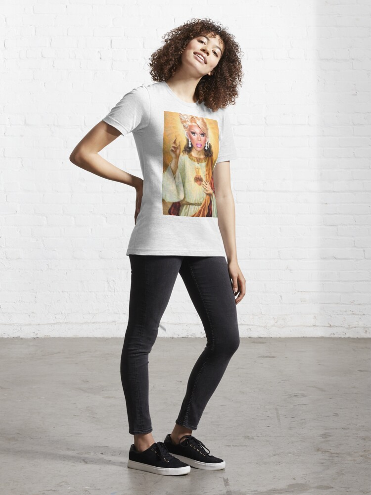 Alternate view of Drag Jesus Essential T-Shirt