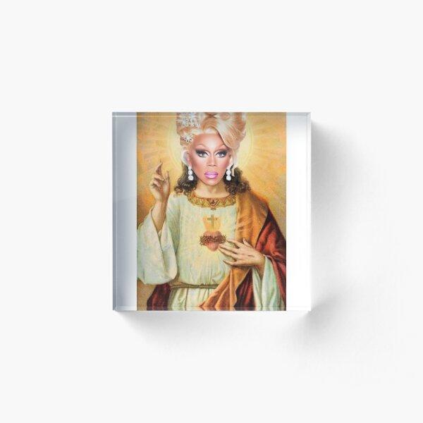 Drag Jesus Acrylic Block