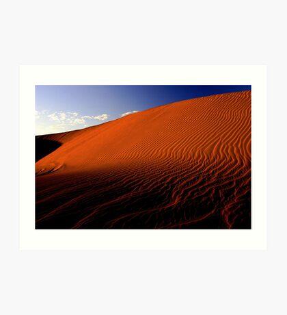 Desert Sand Dune  Art Print