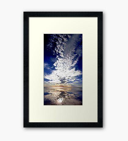 Morning Reflection  Framed Print
